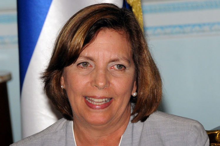 Josefina Vidal, director general of the United States Division at the Cuban Ministry of Foreign Affairs (MINREX)